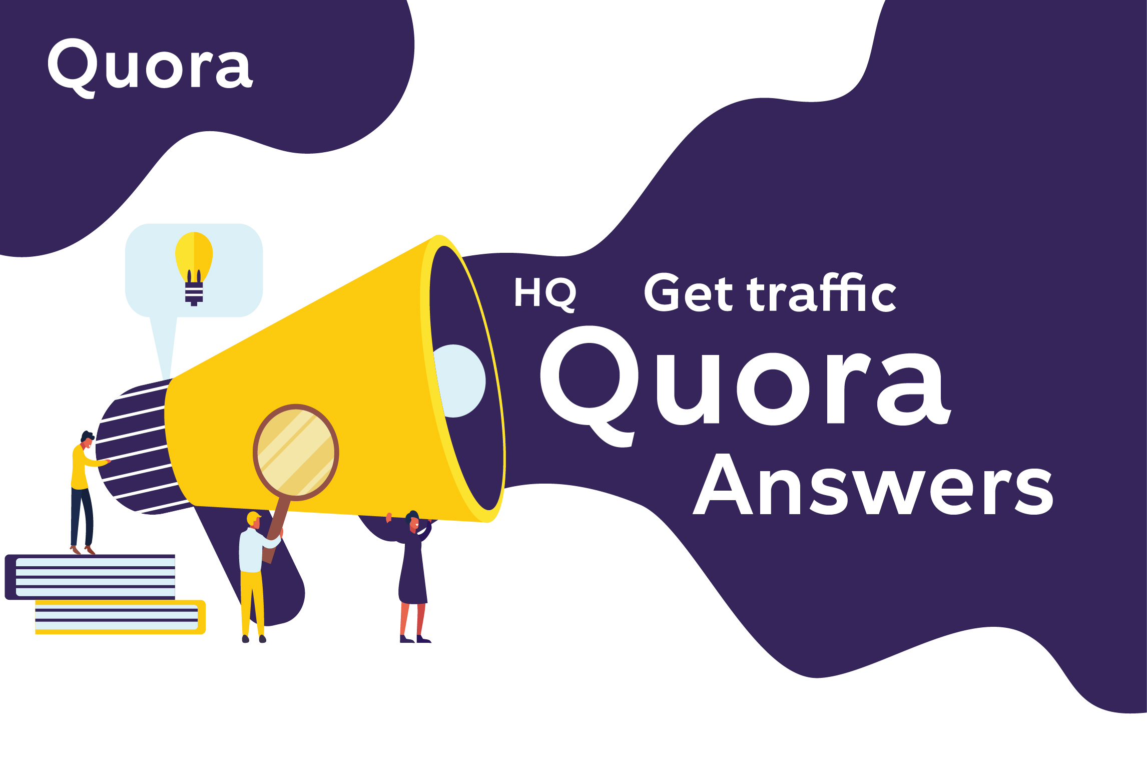 Promote your website & keyword 4 HQ quora answers with backlink