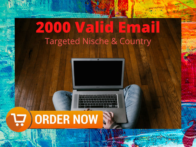 I will Do 2K Targeted Niche Valid Email List