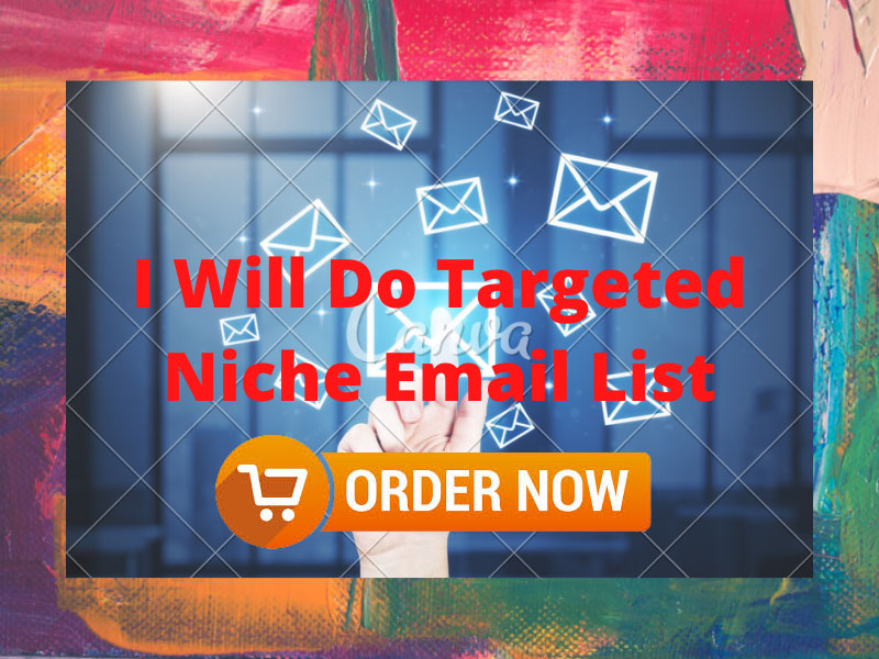 Need 50K Targeted Niche Email List