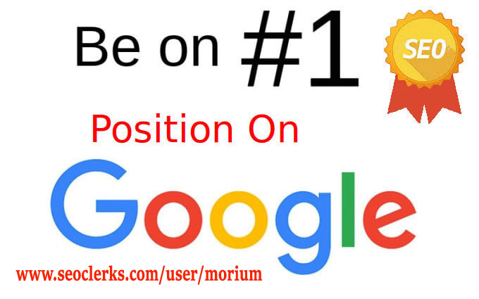 i will increase website keywords ranking in 1st page of google within 6 months