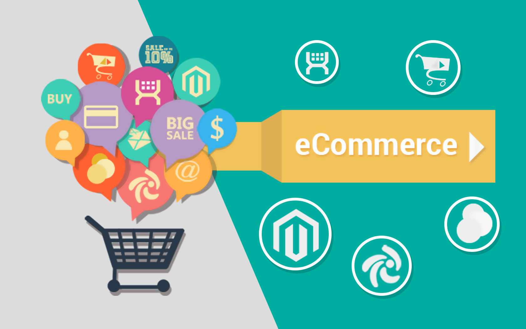 I will create a wordpress ecommerce website using woocommerce