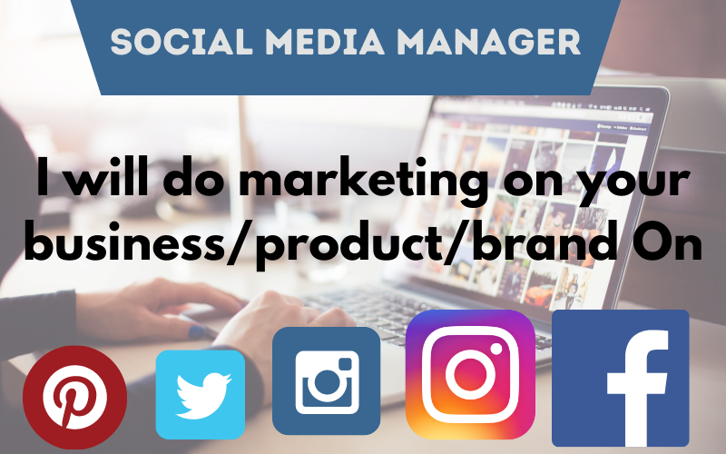 Social media manager and content creator