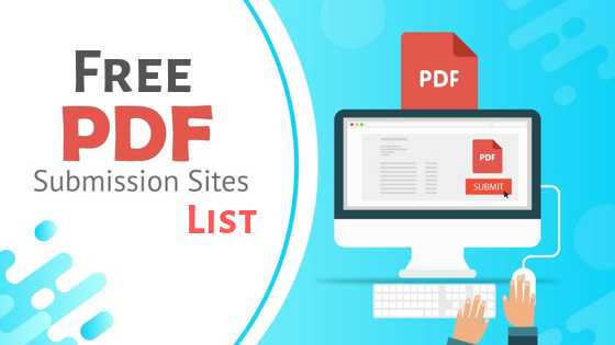 I will do 25 manual PDF submission on document sharing sites