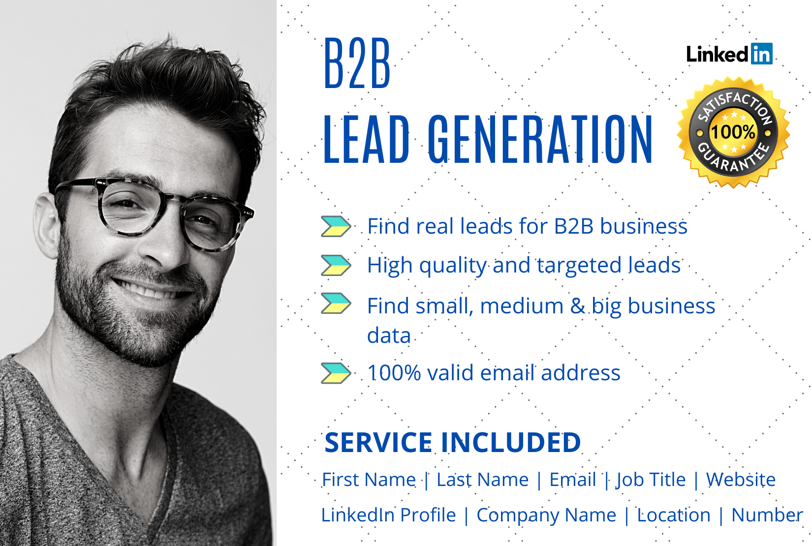 I will do 50 b2b lead generation, web research and data entry