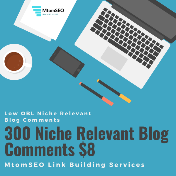 I will do 300 Niche Relevant Blog Comments