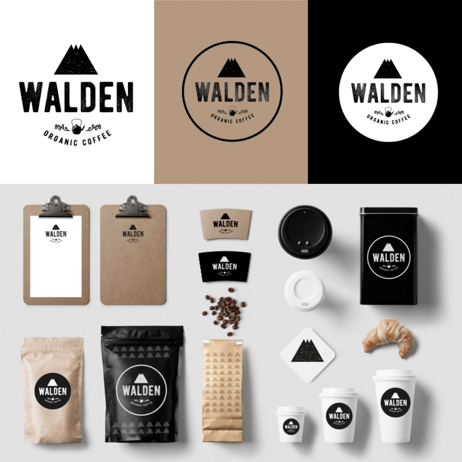 I will design your logo,  brand identity and brand guidelines