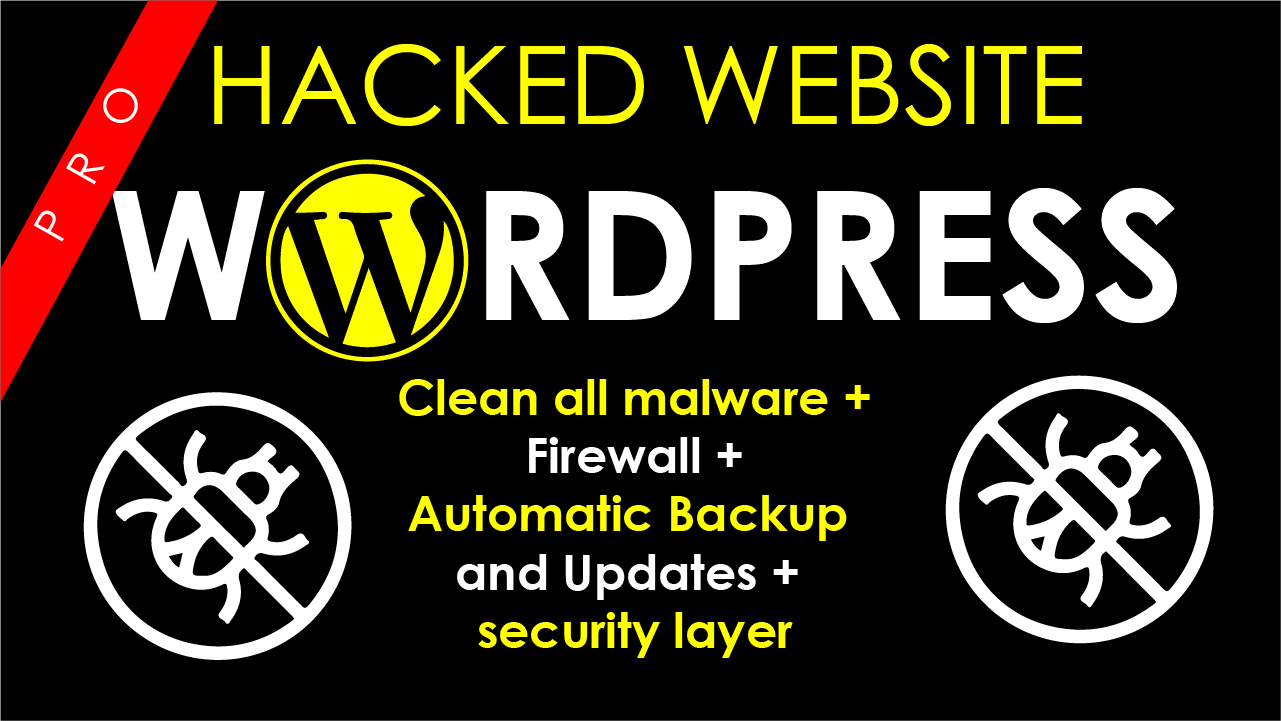 I will Remove malware from wordpress website or hosting server