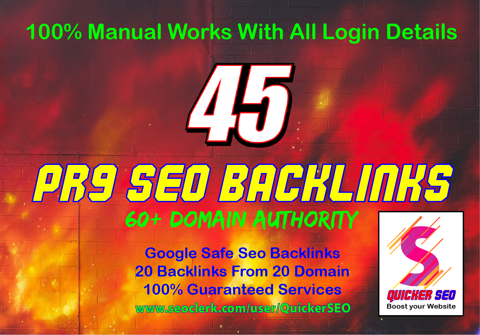Updated -45 PR9 Backlinks from High DA-80+ Domains- Skyrocket your Google Rankings Now