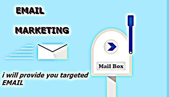 I will provide you 1000 active and targeted email for your email marketing