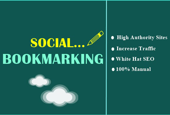 Manually Provide 40+ Social Bookmarking SEO For Your Business