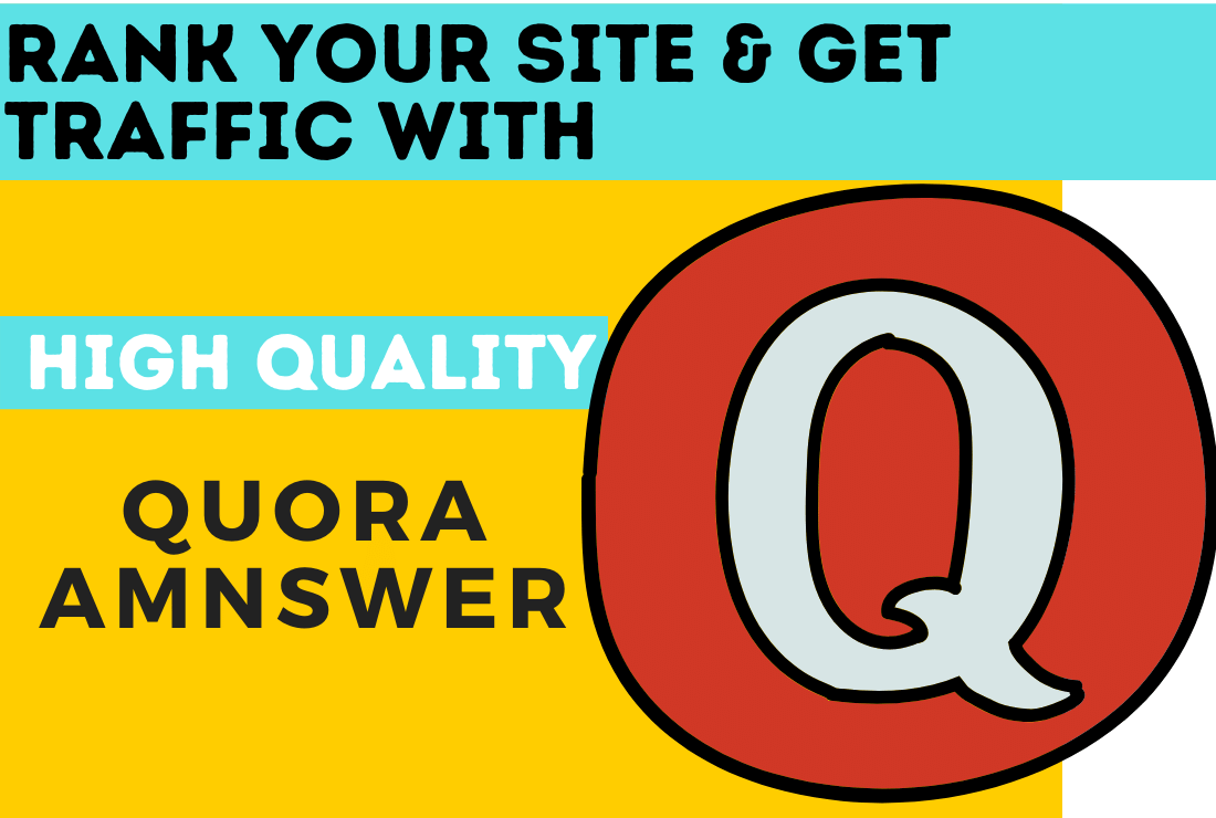 Promote your site in 35 Quora Answers with contextual link