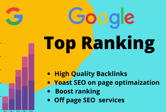 Rank your website in google first page by on page and off page SEO optimization