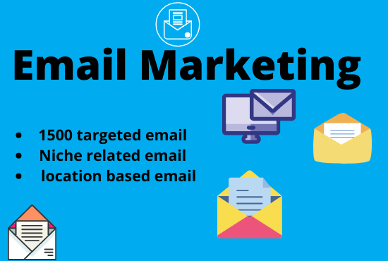 I will collect 1500+ targeted Email for you business