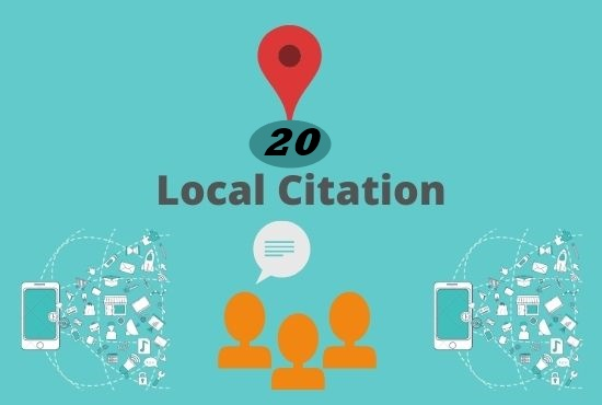 I will manually do 20 local citation or Business listing for all country