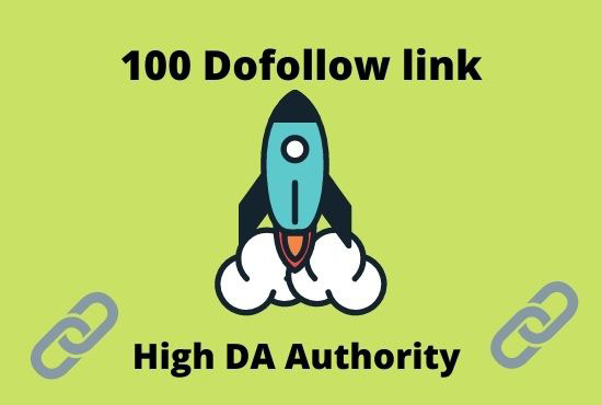 I will provide high quality dofollow backlinks