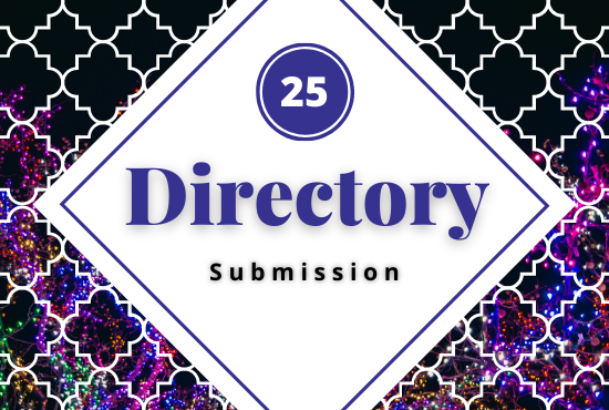 Provide 25 Seo-Friendly Directory Submission Service