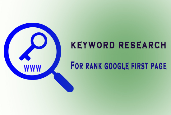 I will do niche relevant keyword research and competitor analysis your website.
