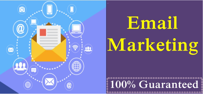 Provide worldwide 1k Email list for your website by Email Marketing