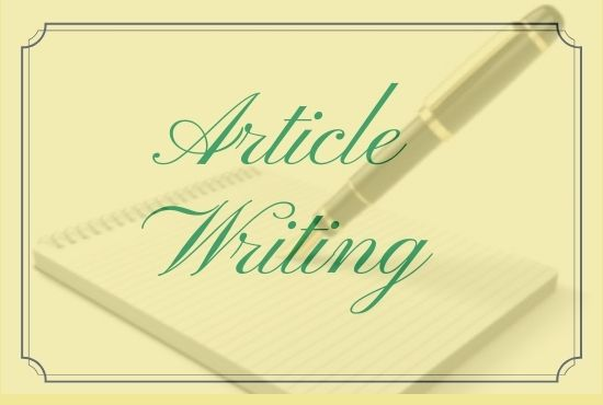 Write An Excellent 1k+ unique article witing,  Content writing,  Blog post writing IN Any Topic