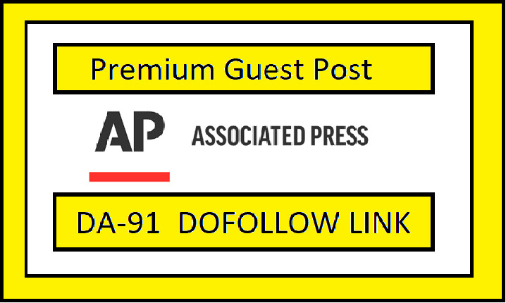I will guest post on ap news,  press release with dofollow backlinks