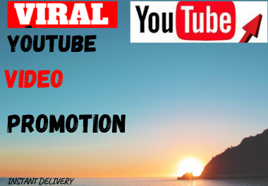 super fast YouTube video promotion and marketing