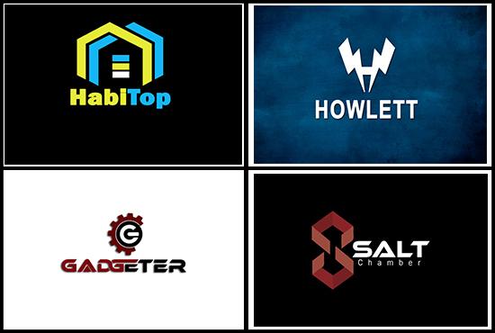 I will do logo design,  type of logo Monogram
