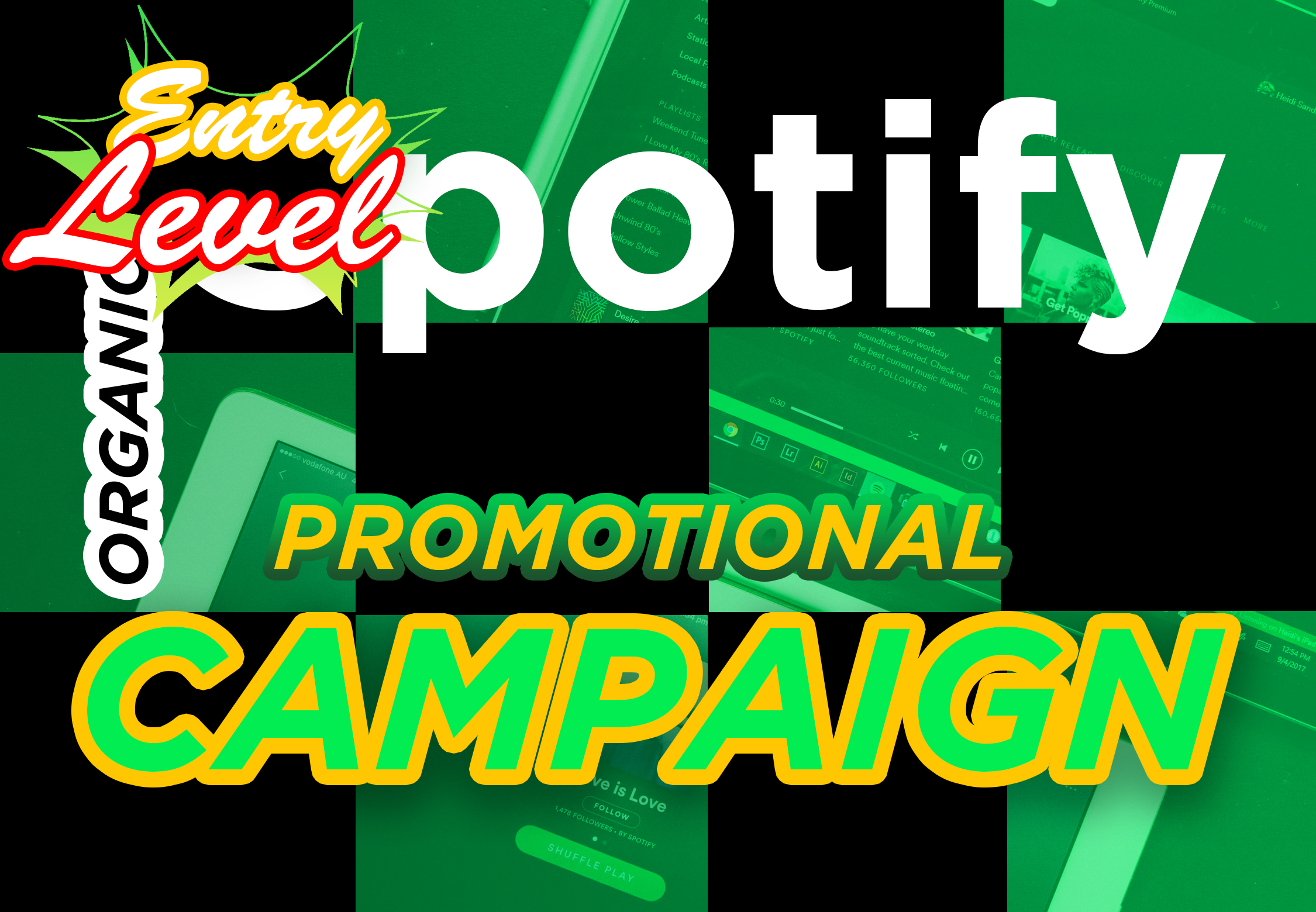 Entry Level Package. I will delivery Premium Music Campaign to help boost your result