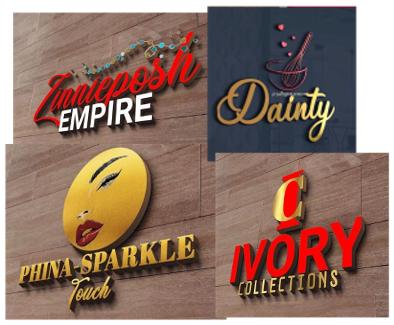 Let me creative a 3d business logo design