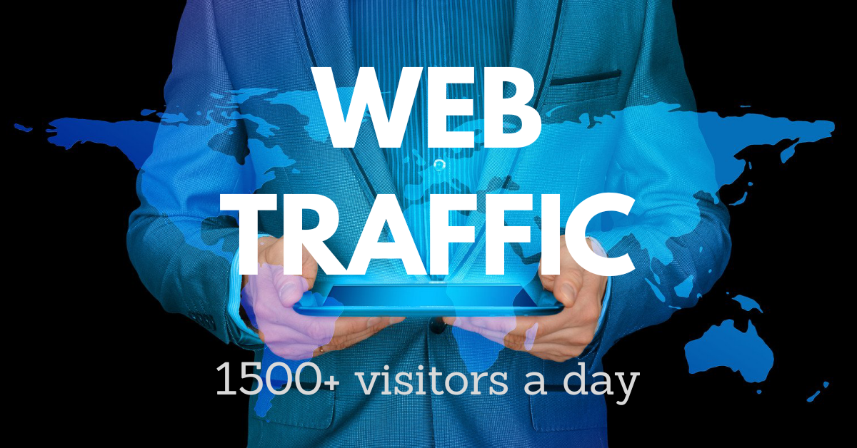 Drive 1500+ Targeted Human Traffic To Your Website A Day