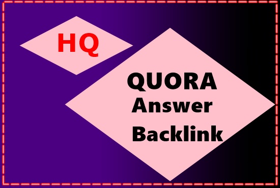 I will Promote website with HQ 8 Quora answer