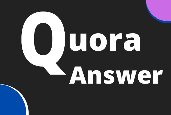 I will Promote website with HQ 8+ Quora answer with URL