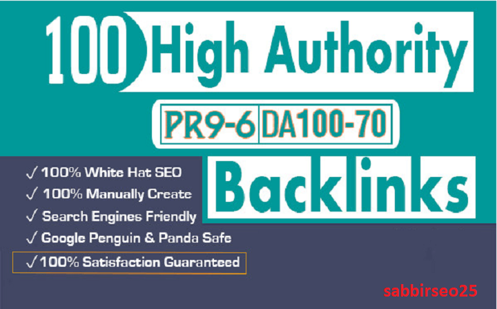 I Will Increase 100 High Authority Backlinks For Google Top Ranking Your Website