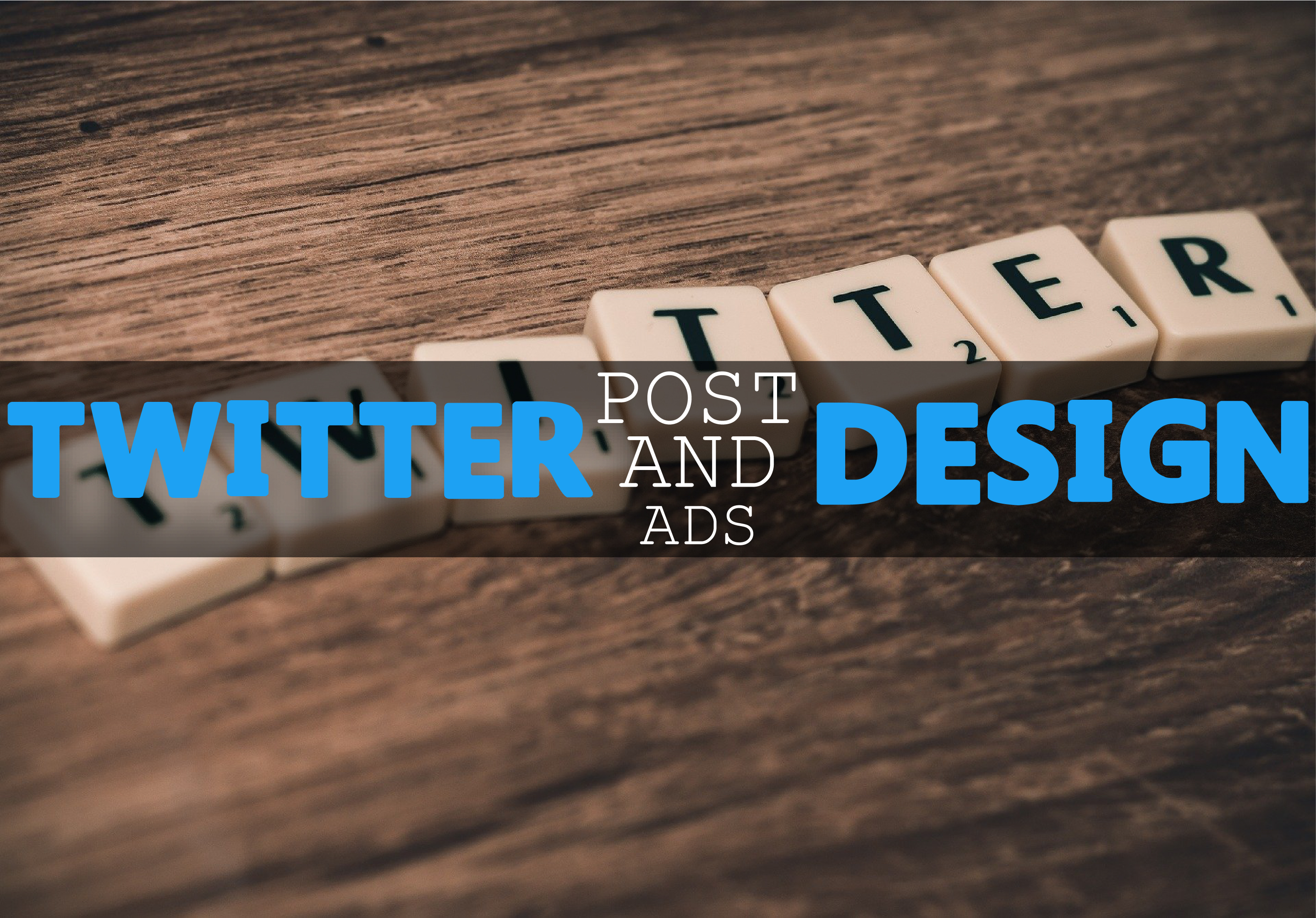 I will create attractive twitter post and ads design