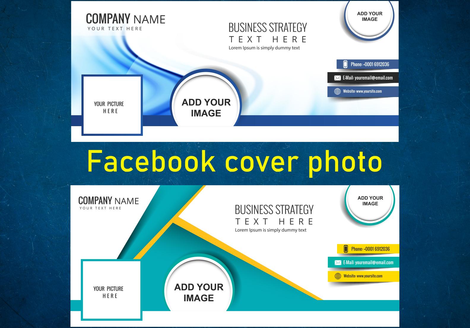 I will create professional Facebook cover design