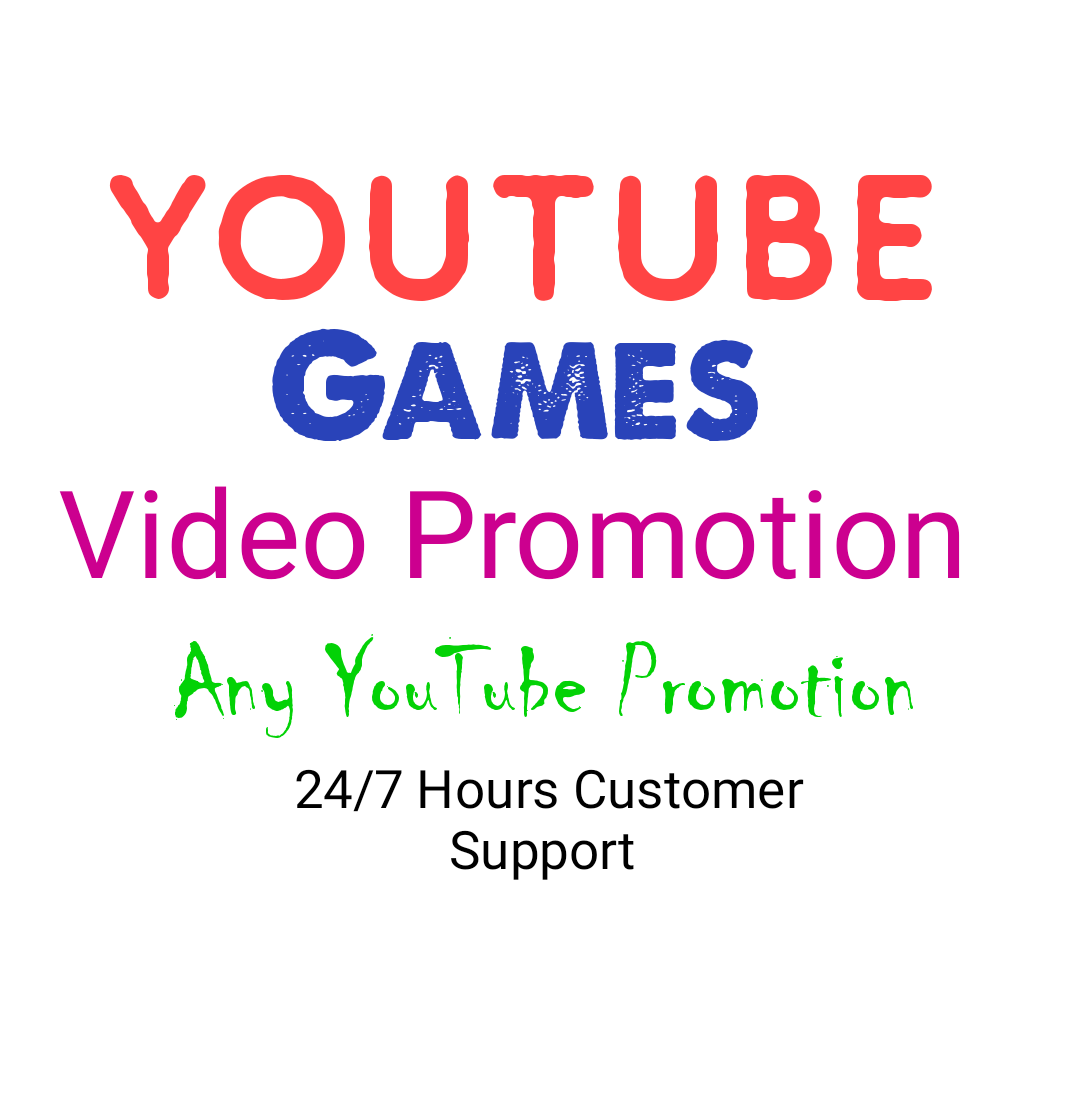 YouTube Games Videos Promotion