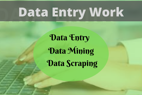 I will be your virtual assistant for data scraping,  data mining,  web research