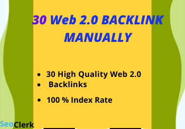 I Will Make 10 Authority web 2 0 Backlink