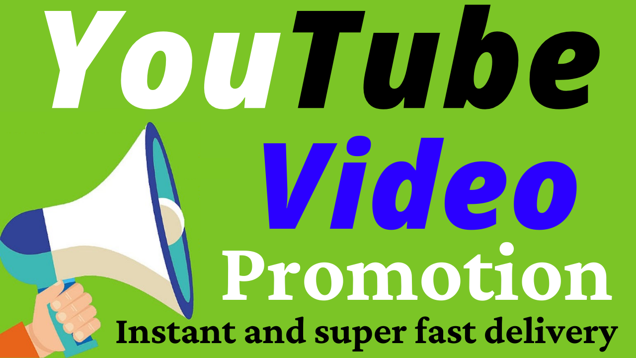 HQ YouTube Video Promotion And Social Media Marketing Super Fast Delivery