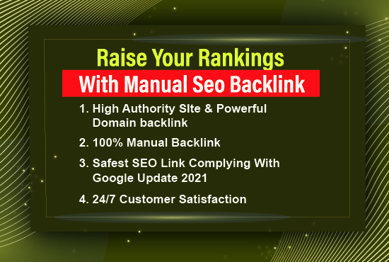Get up your site on google first page with 50 mix backlink