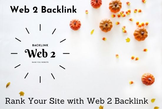 I will create 30 web 2 backlinks with image and video embed
