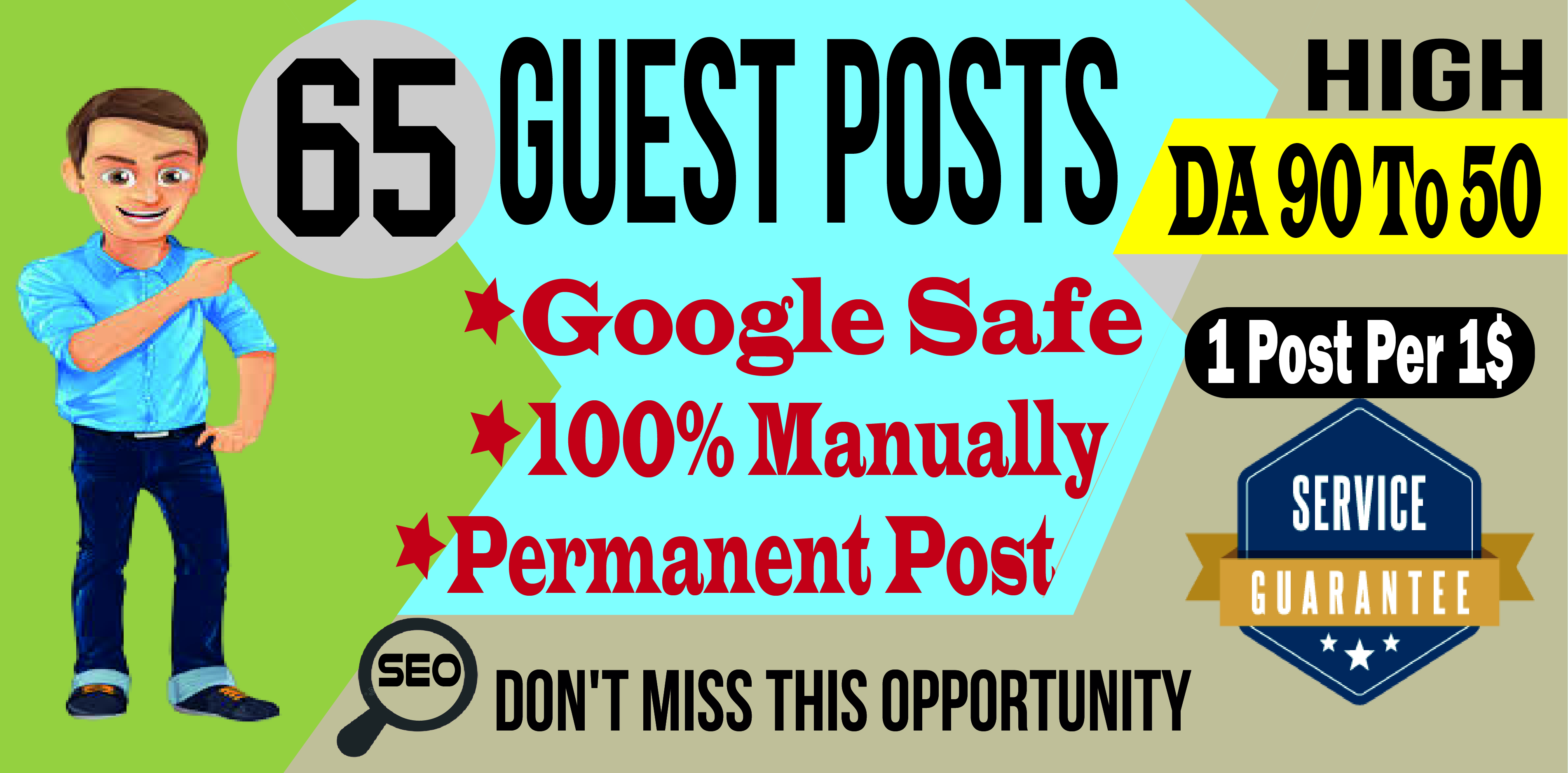 Publish 65 Guest Posts Articles To Rank Skyrocket Your Website
