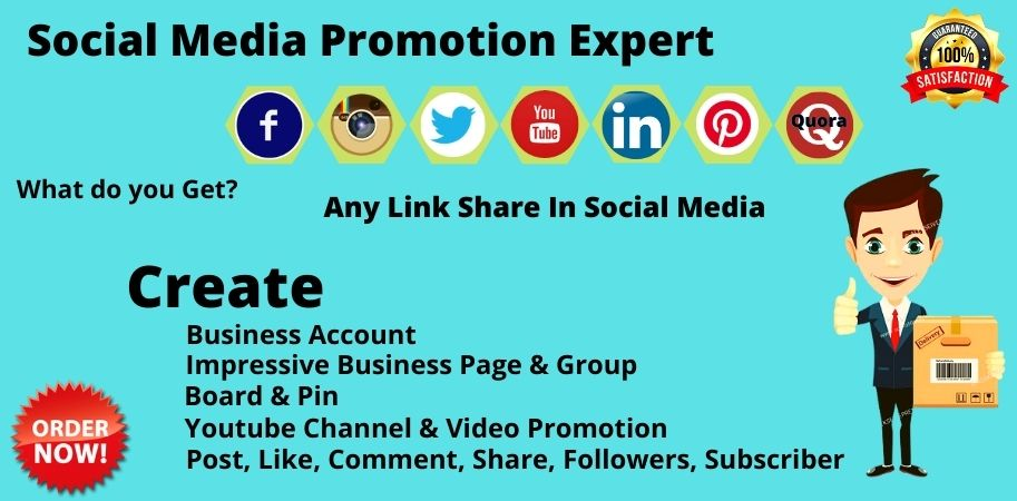 Social media promotion experts to improve your business
