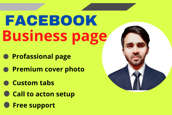 I will make your awesome facebook business page