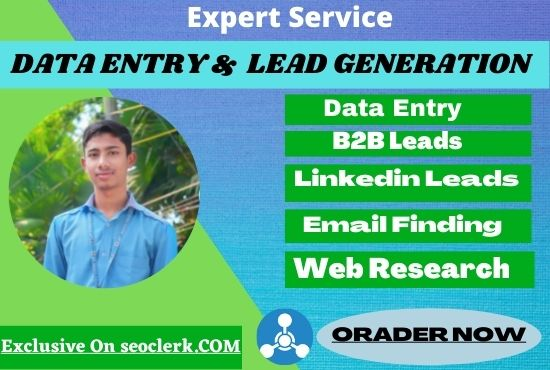 I will do data entry pdf covert and lead generation in 12 hours