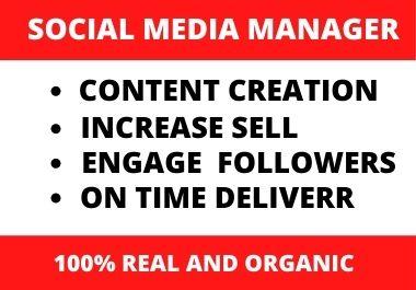 I will create your social media