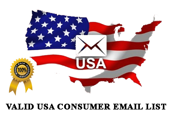 I will provide you fresh USA 2k consumer email