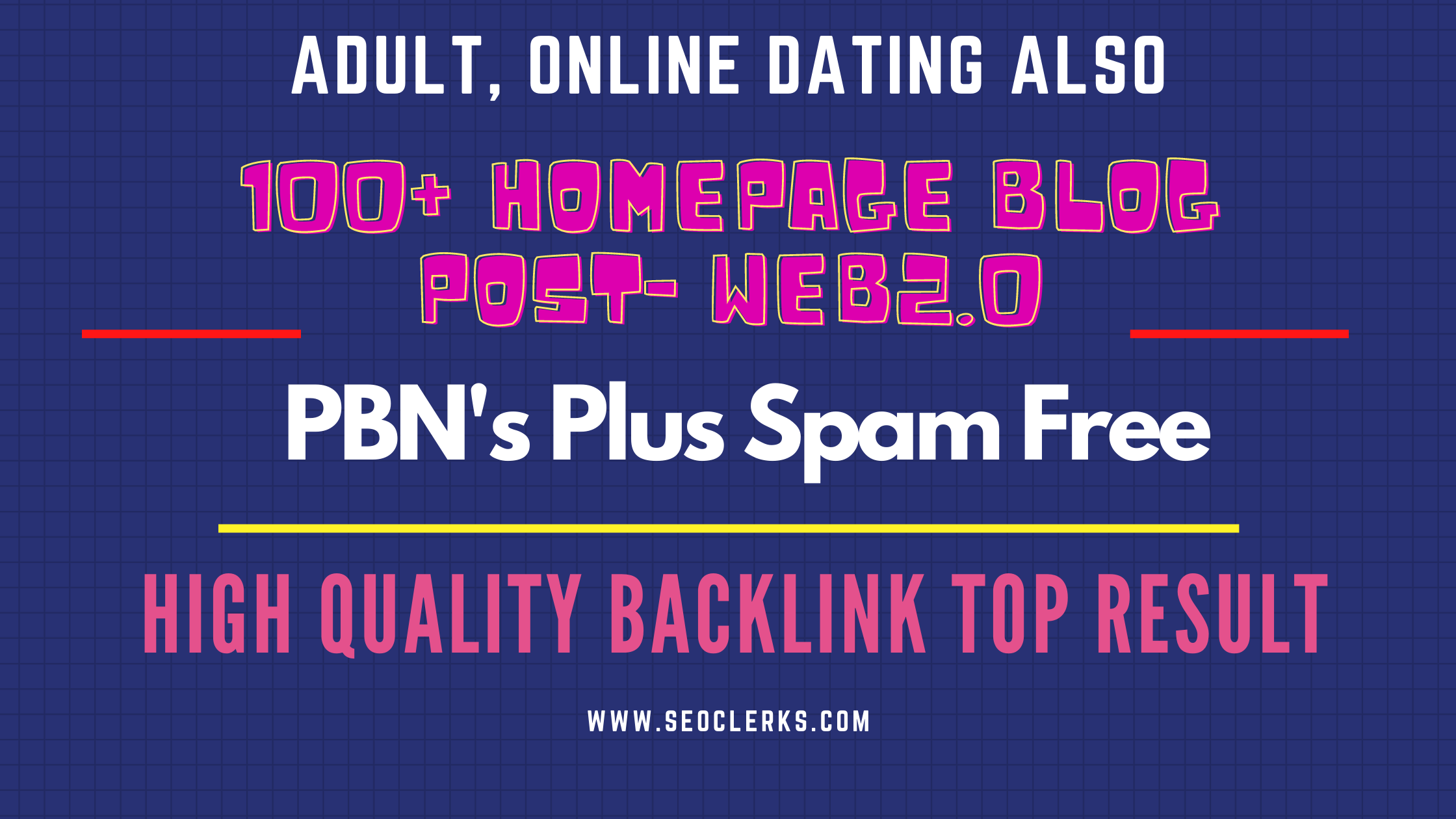 ADULT,  Gambling 100+ PBN High Quality Blog post Backlinks Top Ranking by Quality links