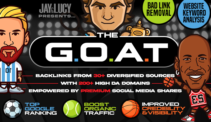 The G.O.A.T SEO - CASINO, CBD, ADULT EXPERTS - FLAT 70 OFF
