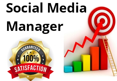 I will be your social media manager and content creators.