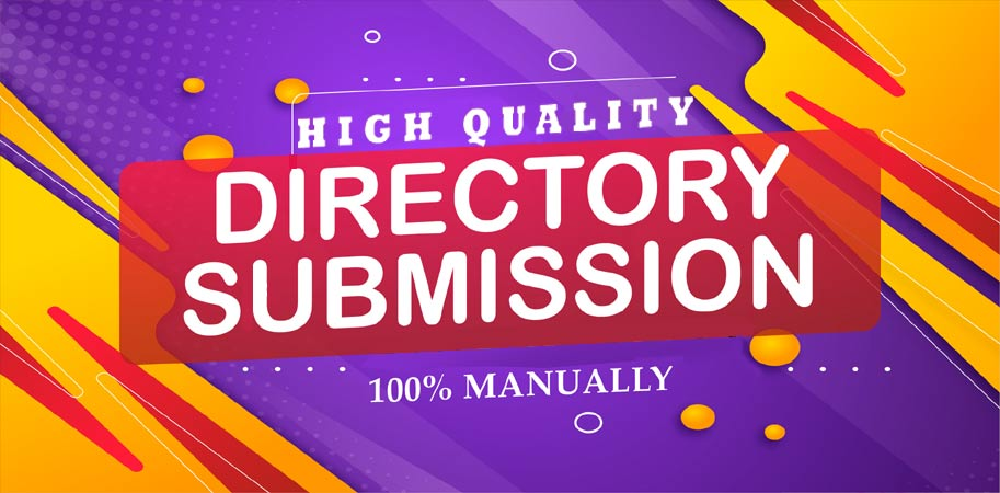 Provide 20 Directory submissions Instant Approve Manually Backlinks